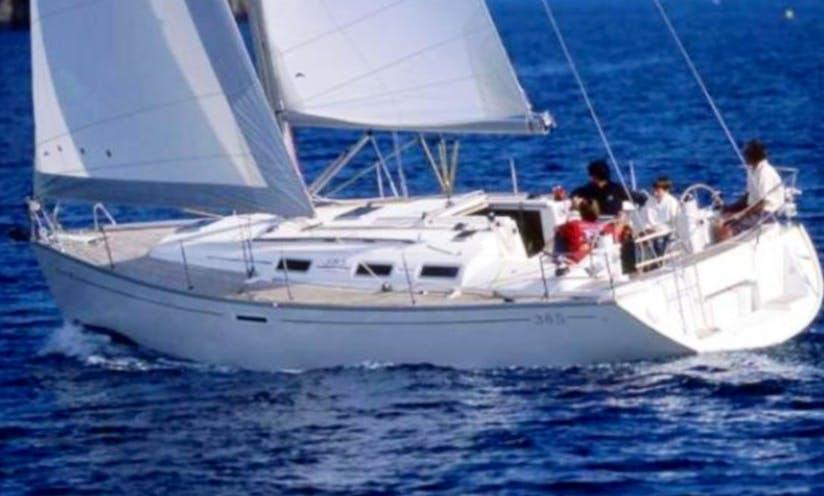 Charter 39' Dufour Cruising Monohull in Marsala, Sicilia