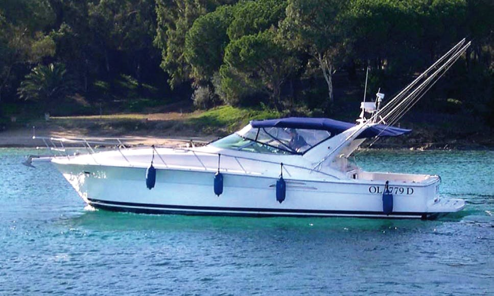 Charter 45' Riviera Motor Yacht in Capo D'orso, Sardegna