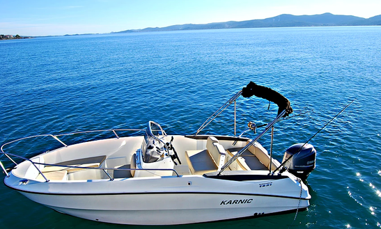 Enjoy Fishing In Sukošan, Croatia On Karnic Boawrider