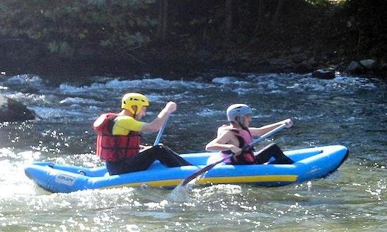 Enjoy Mini Rafting In Puichéric, France