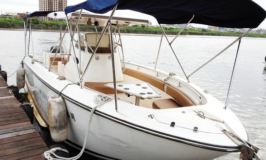 Rent 29' American Sport Bowrider In Toucheng Township, Taiwan