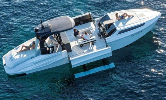 Charter 42' Wider 42 Motor Yacht In Budapest, Hungary