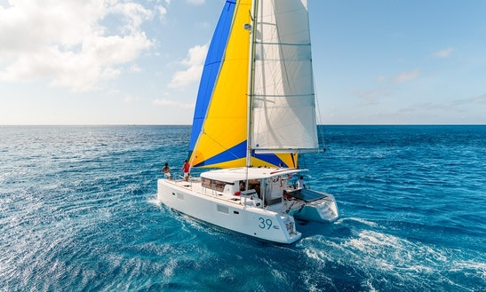 Charter 39' Logoon 39 Crusing Catamaran In Šibenik, Croatia