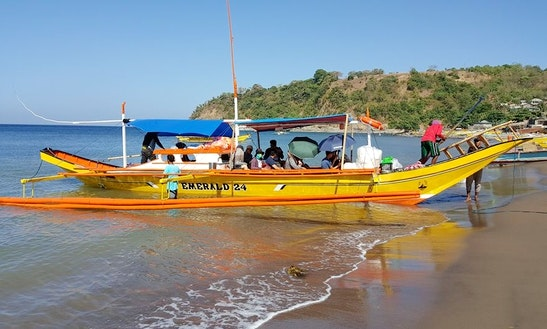 Charter A Emerald 24 Traditional Boat In Mariveles, Philippines