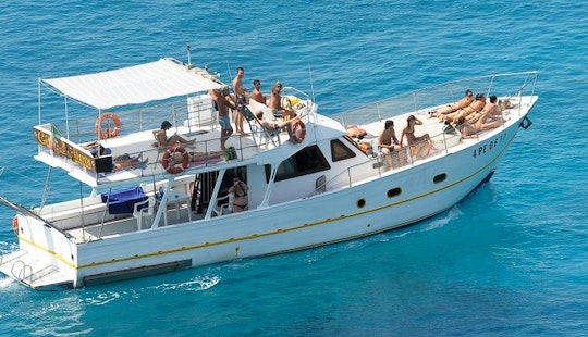 Perfect For Boating Adventure In Lampedusa, Italy On A Motor Yacht