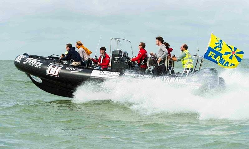 Charter Extasea Raid 750 Rigid Inflatable Boat in Helsinki, Finland