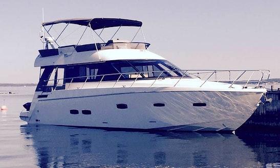Charter 48' Sealine F460 Motor Yacht In Helsinki, Finland