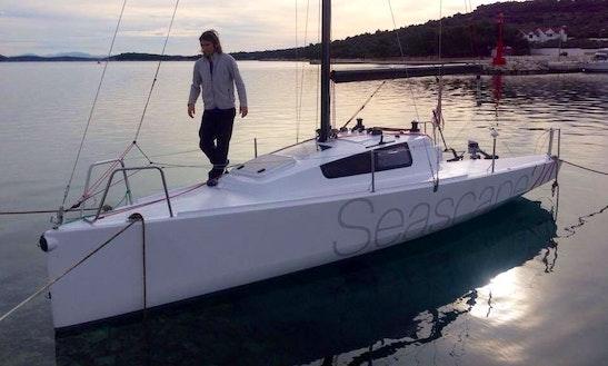 Rent 24' Seascape Daysailer In Jezera, Croatia
