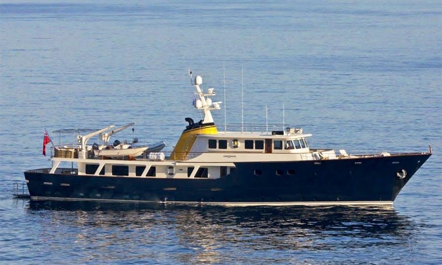Chater 130' Arionas Trawler in Massa, Toscana