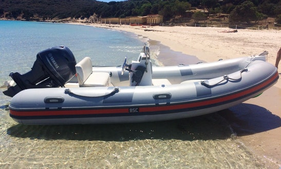 Rent Bsc 45 Rigid Inflatable Boat In Teulada, Sardegna