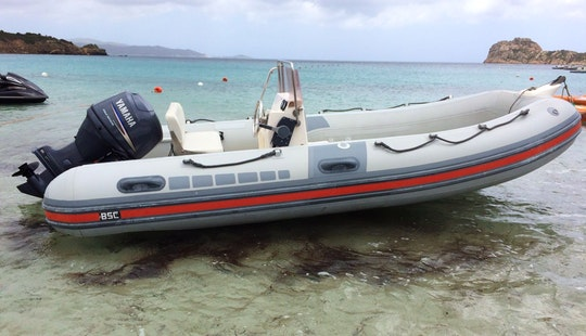 Rent 16' Bsc 45 Rigid Inflatable Boat In Teulada, Sardegna