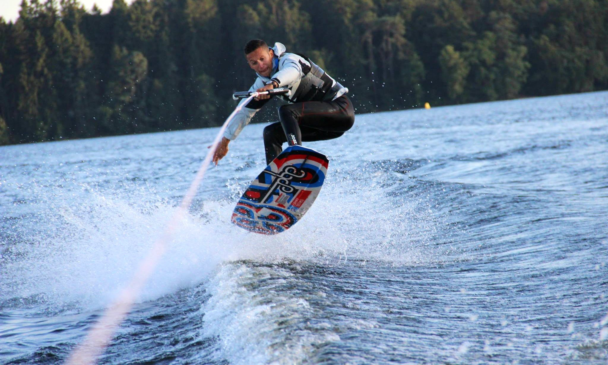 Enjoy Wakeboarding in Montsauche-les-Settons, France
