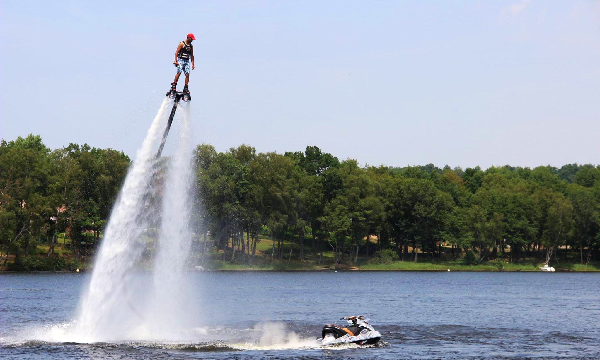 Enjoy Flyboarding in Montsauche-les-Settons, France