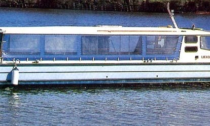 Charter boat in Hämeenkyrö, Finland