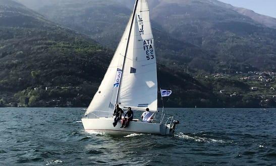 Rent 24' Daysailer In Menaggio Lombardia