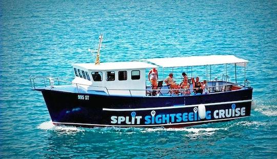 Enjoy Sightseeing In Split, Croatia (panorama Of Split City)