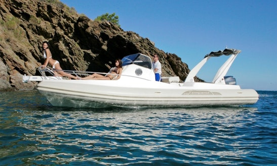 Rent 25' Capelli Tempest Rigid Inflatable Boat In Luri, France