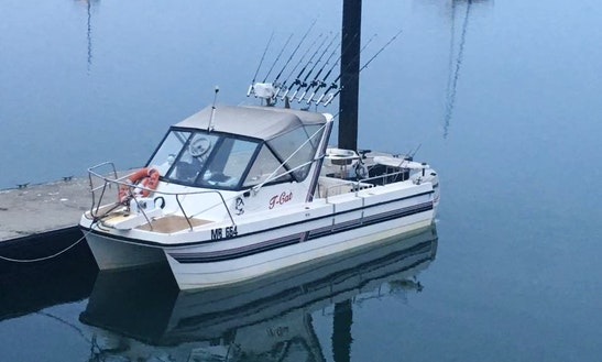 Enjoy Fishing In Rhyll, Victoria On 21' Power Catamaran