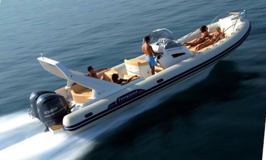 Rent 33' Capelli Tempest Rigid Inflatable Boat In Luri, France