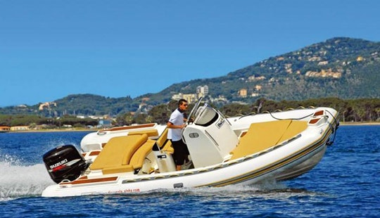 Rent 23' Bwa Rigid Inflatable Boat With 200 Hp Motor In Ajaccio, France