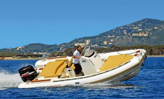 Rent 23' Bwa Rigid Inflatable Boat In Ajaccio, France
