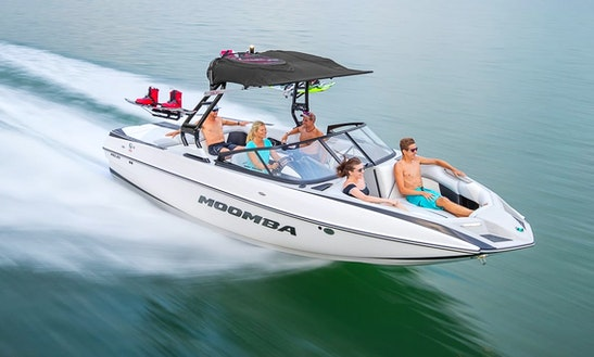 Rent 23' Moomba Mojo Bowrider In Savines-le-lac, France