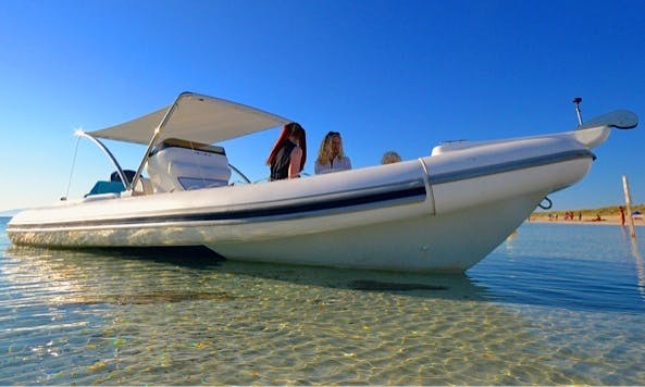 Rent 24' Arimar Rigid Inflatable Boat in Santa-Maria-Poggio, France