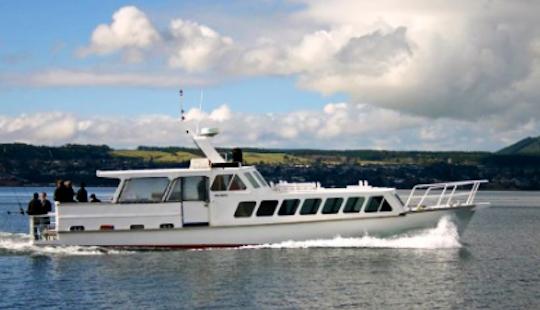 Charter 57' Waikare Ll Trawler In Taupo, New Zealand