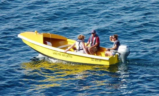 Rent 15' Dinghy In Douarnenez, France