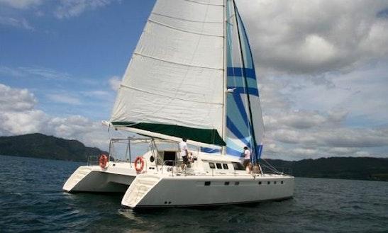 Charter A Tiua Cruising Catamaran In Mourea, New Zealand