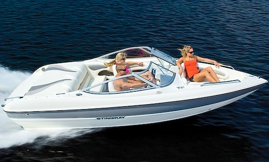 Rent 18' Stingray 185 Ls Bowrider In Ahlen, Germany