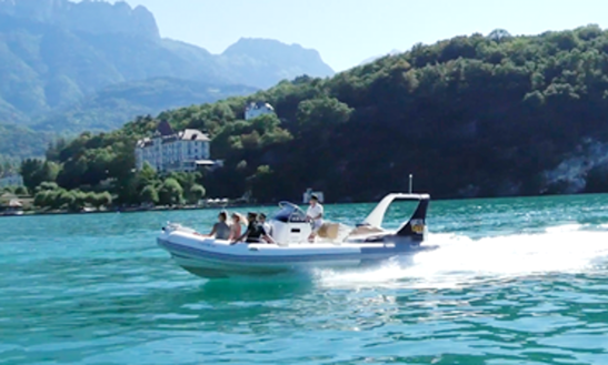 Charter Lac D'annecy Rigid Inflatable Boat In Annecy, France