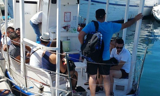 Deck Boat Rental In Limassol