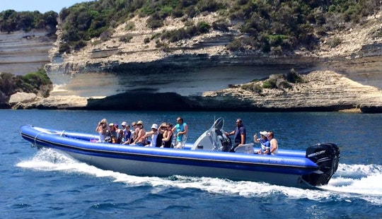 15 Person Rigid Inflatable Boat For Rent In Calcatoggio, France For Island Experience