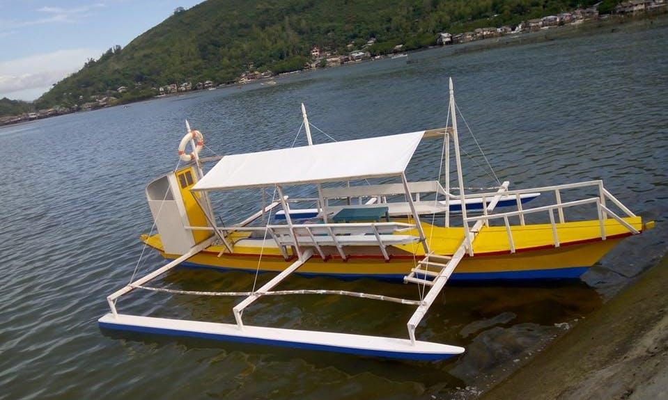 Charter a ParawTraditional Boat While Visiting Bais City