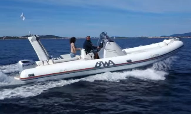 Rent 30' Rigid Inflatable Boat in Toulon, France