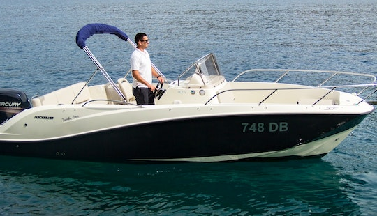 Charter 22' Quicksilver 675 Center Console In Dubrovnik, Croatia