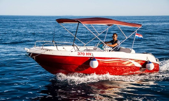 Rent A Bowrider In Hvar, Croatia