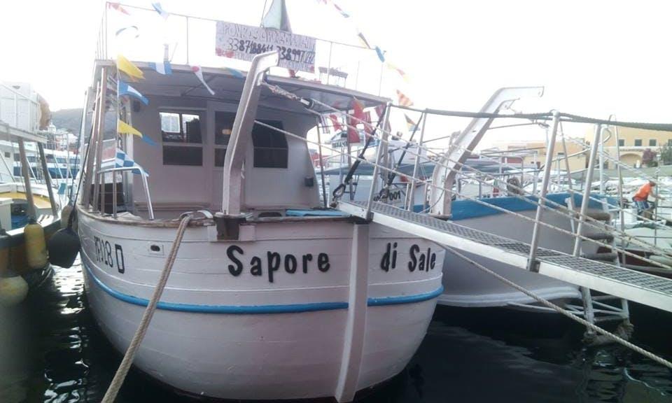 Charter a Cuddy Cabin in Ponza, Lazio