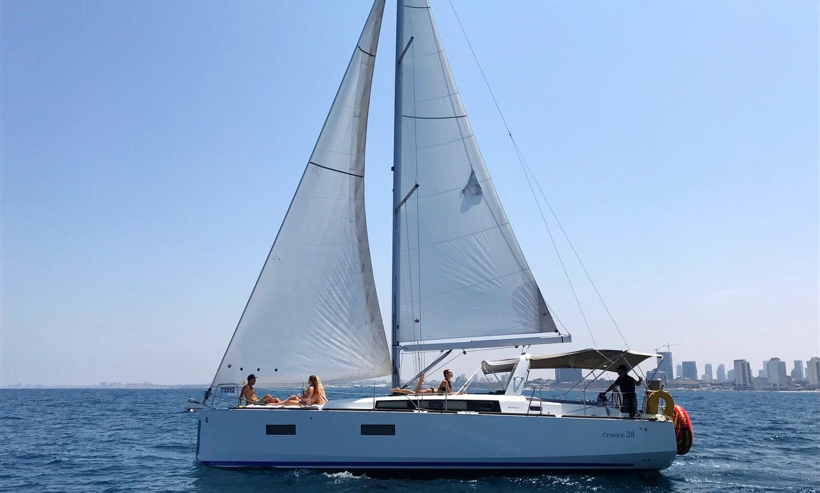 2014 Beneteau Oceanis Yacht for Rent in Tel Aviv-Yafo, Israel