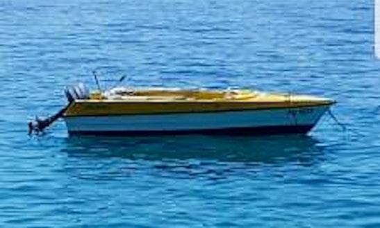 Deck Boat Rental In Mandre