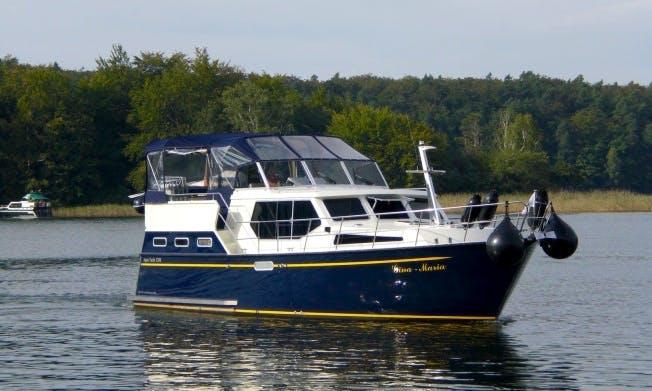 Charter 39' Gina - Maria Aqua Yacht 1200 Motor Yacht in Rheinsberg, Germany