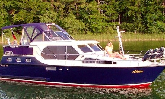 Hit The Water In Rheinsberg, Germany- Charter This 35ft