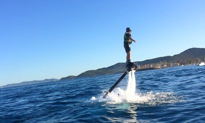 Enjoy Flyboarding in Bormes-les-Mimosas, France