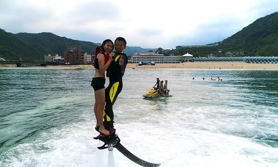 Enjoy Flyboarding In Banqiao, New Taipei City