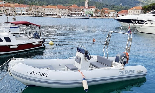 Rent 15' Trimarin Tm460 Rigid Inflatable Boat In Jelsa, Hvar Island