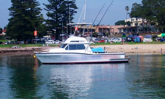 Enjoy Fishing In Shellharbour, New South Whales On A Sport Fisherman