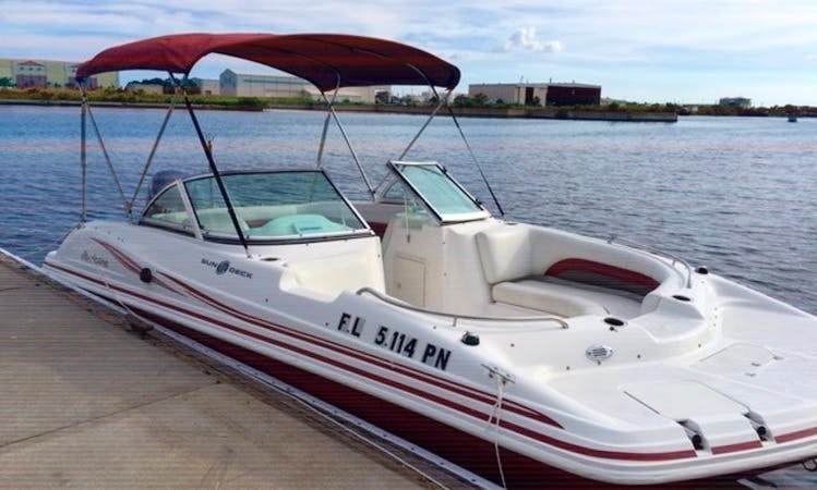 (Special $285 WeekDays) Beautiful 19' Hurricane LILY Deck Boat
