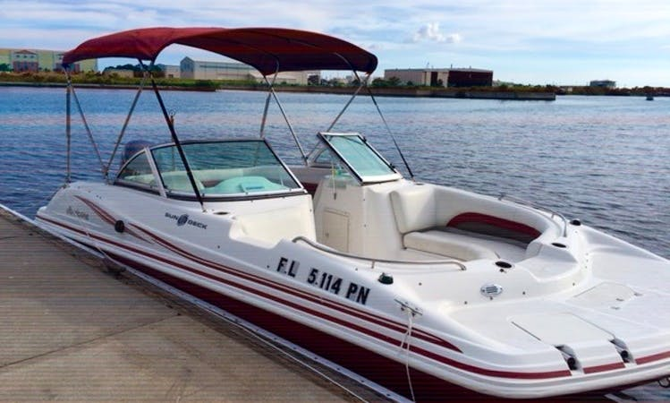 Beautiful 19' Hurricane LILY Deck Boat