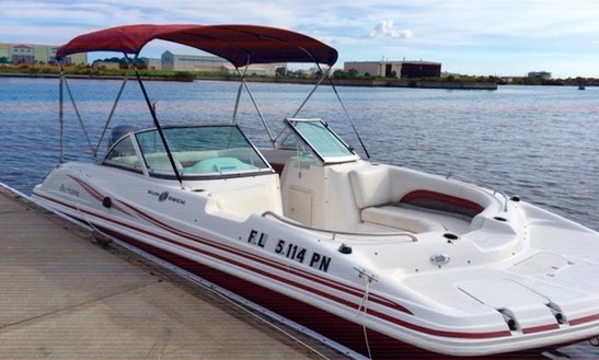 (special $275 Weekdays) Beautiful 19' Hurricane Lily Deck Boat